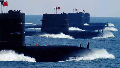 chinese-submarines-lined-up
