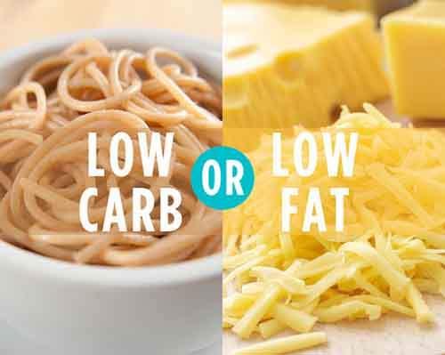 low-carb-low-fat