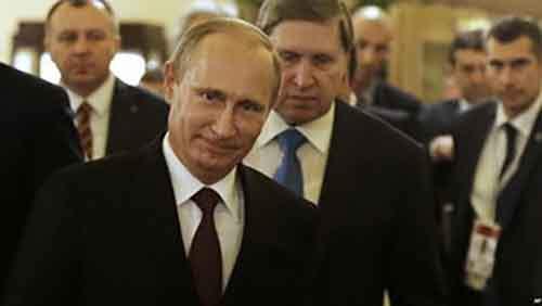 Своей экстравагантностью Путин выводит политических соперников из равновесия