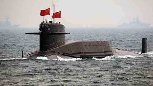 Type 094 Jin class SSBN