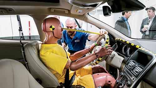 crash-testing-dummy-in-front-seat