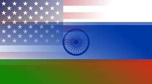 India-Russia-US-flags