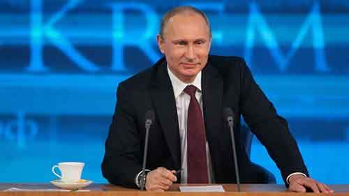 President Putin holds annual news conference