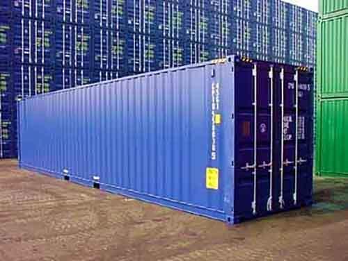 Виды контейнеров размера 40 футов