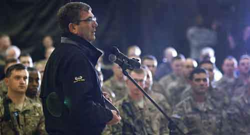 Ashton Carter Travels To Afghanistan