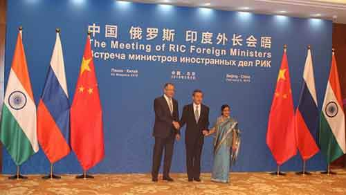 13TH RIC FOREIGN MINISTER'S MEET