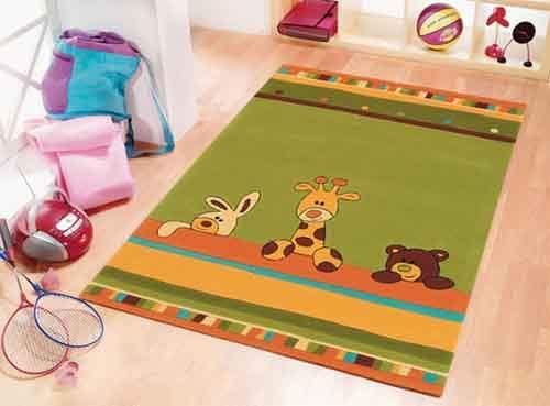 Как правильно выбрать ковер для детской комнаты?