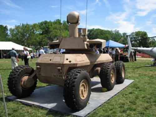 Роботизированная боевая машина армии США