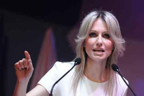 кандидат в президенты от Союза демократических левых сил Магдалена Огорек
