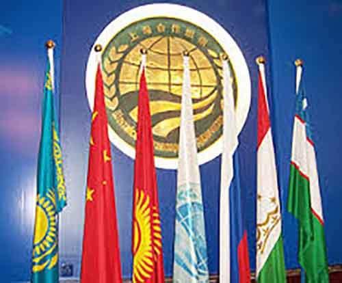 Полноправные члены  ШОС -  Россия, Китай, Казахстан, Кыргызстан, Таджикистан, Узбекистан