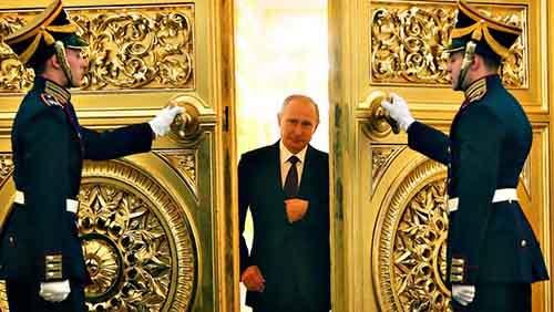 Russian President Vladimir Putin enters ...Russian President Vla