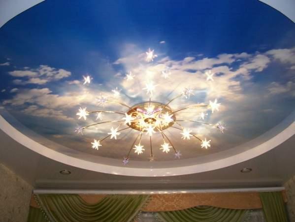Натяжные потолки – быстрый монтаж и прекрасный внешний вид