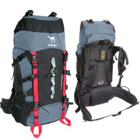 Достоинства туристических рюкзаков TRAMP
