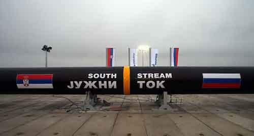European energy company shares plunge after South Stream U-turn