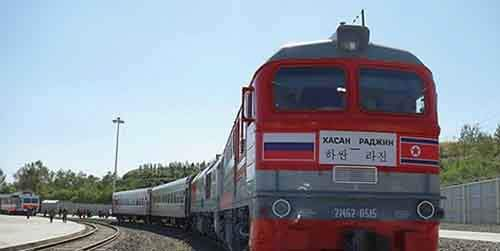 moscow-pyeongyang railroad