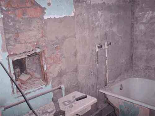 Что нужно сделать перед ремонтом ванной комнаты?
