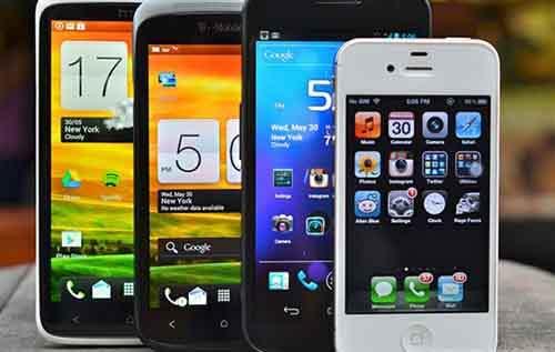 Смартфоны непременный атрибут современного человека