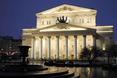 Большой Театр – культурный центр страны