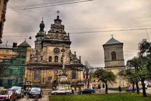 Бернардинский монастырь, Львов