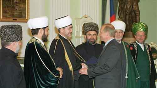 Представители Духовного управления мусульман России встречаются с В. Путиным