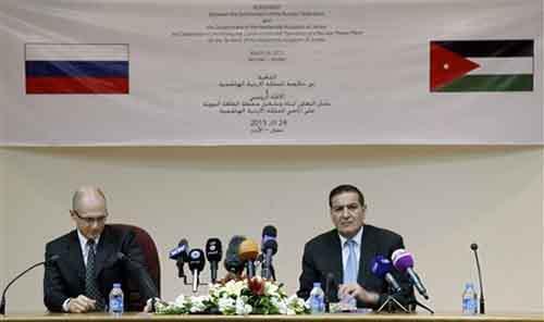Глава Росатома Сергей Кириенко и Председатель Иорданской Комиссии по атомной энергетике Халид Тукан