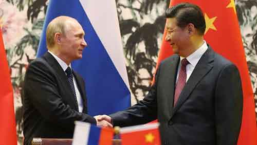 APEC Bilateral Meeting - China & Russia