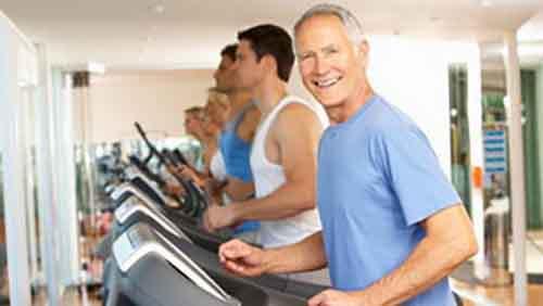 Мужчины среднего возраста в хорошей физической форме менее подвержены риску развития рака