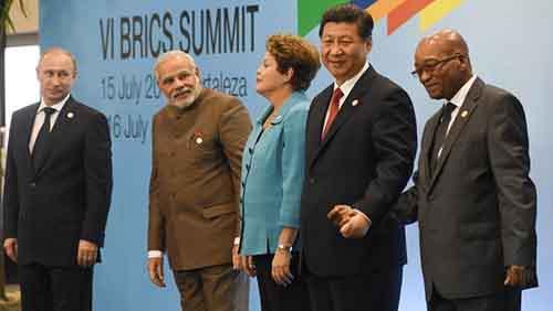 BRAZIL-BRICS-ROUSSEFF-XI-MODI-PUTIN-ZUMA