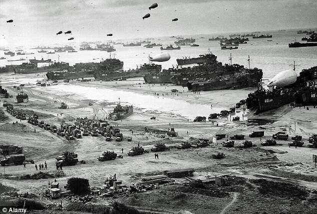 """Операция """"Оверлорд"""" в июне 1944 года"""