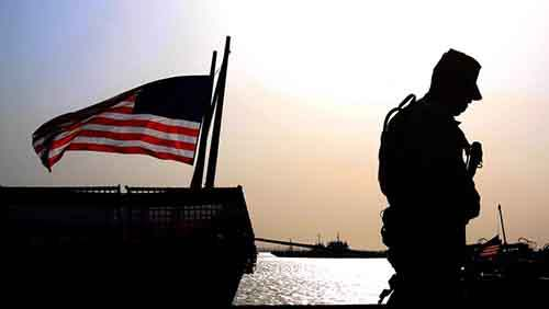 APTOPIX Mideast Bahrain US Military