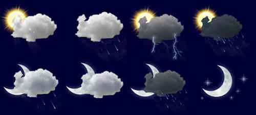 Прогноз погоды в кармане с www.alphaweather.net