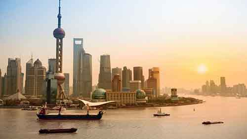 shanghai-skyline-at-dusk-china