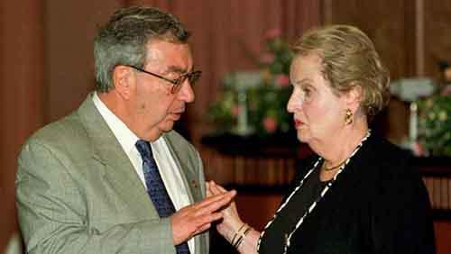 Yevgeny Primakov, Madeleine Albright