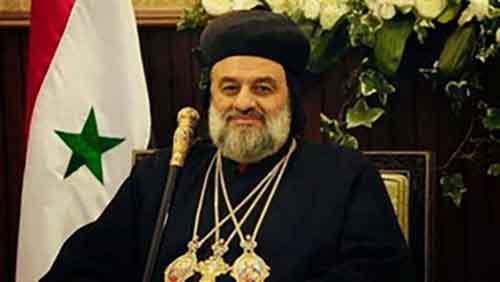 Глава сирийской православной церкви Западу: прекратите вооружать террористов, уничтожающих наш народ!