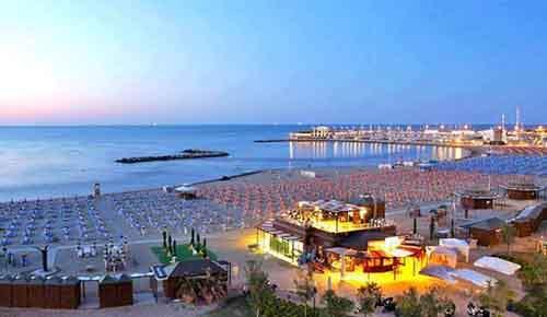 Лучшие пляжные отели Италии находятся в регионе Ривьера Романьола