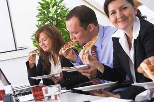 Вкусная еда в офис