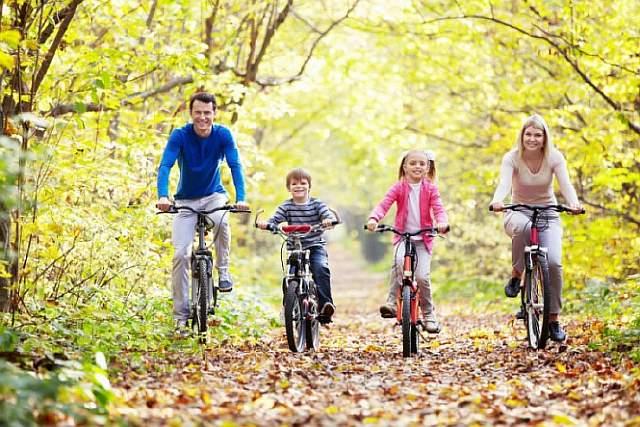 Катание на велосипеде – интересный и полезный отдых