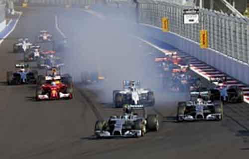 История трансляций Формулы 1 в России