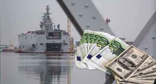 Срыв контракта по «Мистралям» обойдётся Франции вдвое дороже их стоимости