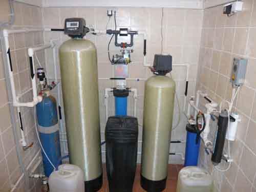 Системы очищениея воды для частного дома
