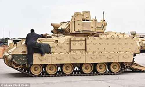 Чтобы противодействовать России, американские танки в Европе перекрасят