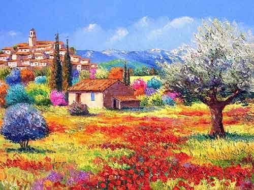 Картины пейзаж - красота природы у вас дома.