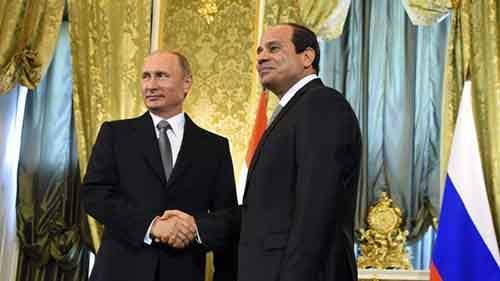 Abdel-Fattah el-Sissi, Vladimir Putin