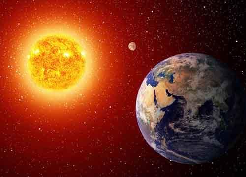 Отражение теплового излучения обратно в космическое пространство