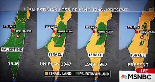 Palestine-loss-of-land-to-Israel-MSNBC