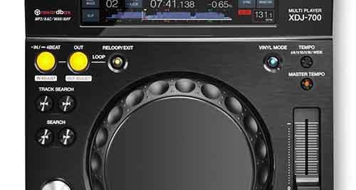 Pioneer запустил недорогой и компактный XDJ-700
