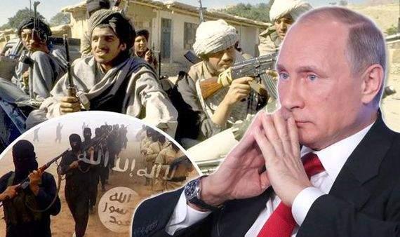 Путин, талибы и ДАИШ