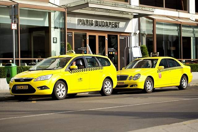 Budapest-taxis