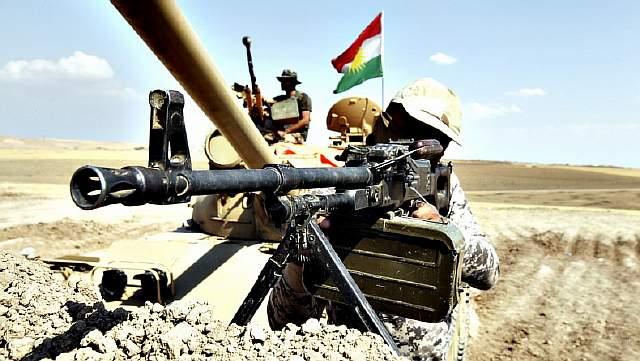 Бойцы курдских сил самообороны Пешмерга
