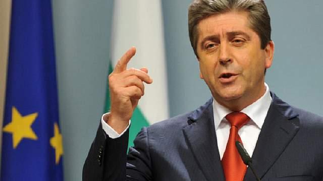 Подпись к изображению: Лидер партии «Альтернатива для болгарского возрождения экс-президент Болгарии Георгий Пырванов